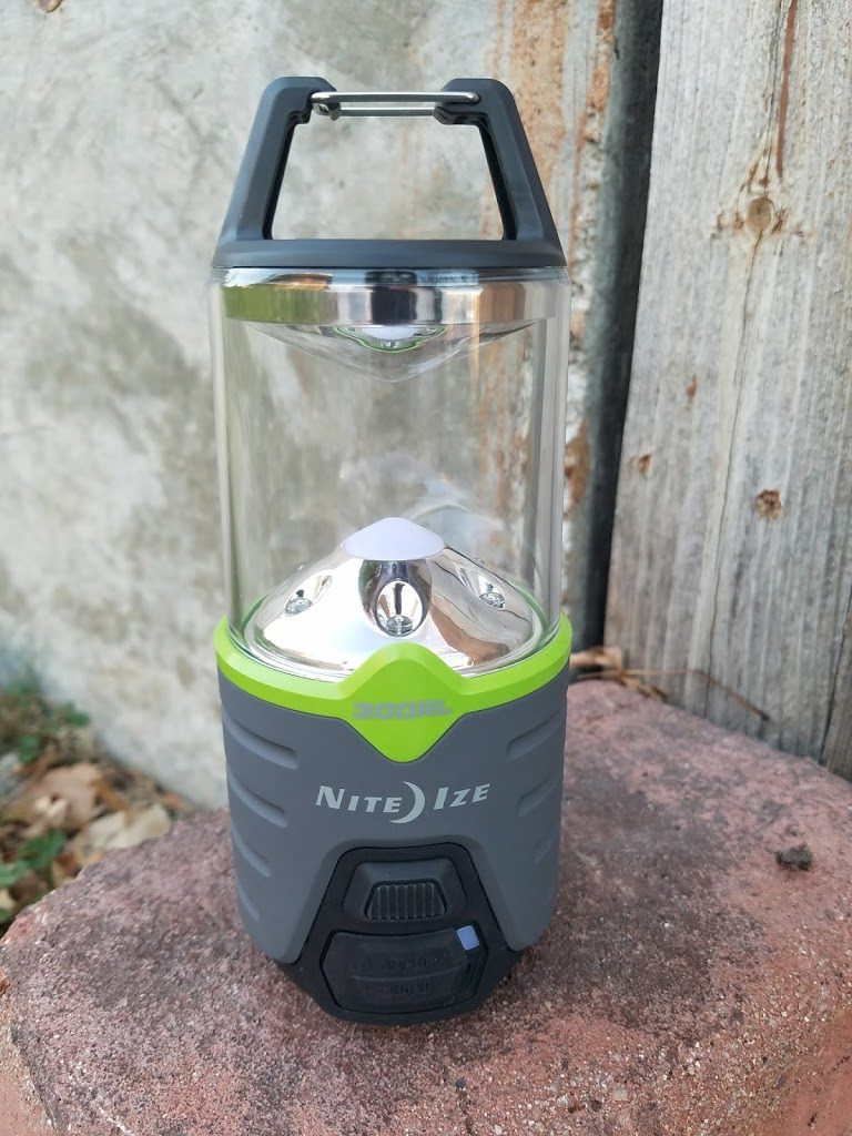 Gift Idea for the Outdoor Enthusiast: Nite Ize Rechargeable Lantern