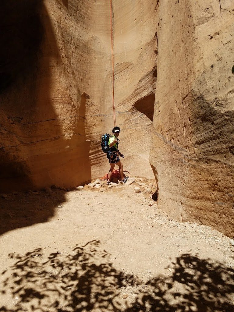 Intro to Canyoneering: Yankee Doodle Canyon in Utah