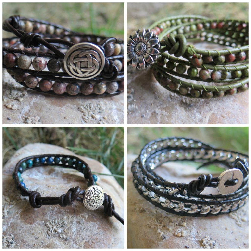Leather Bracelet Giveaway