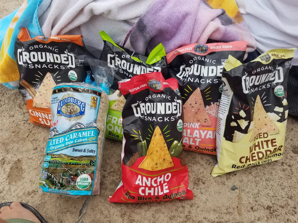 On the Go with Lundberg Family Farms Grounded Snacks Review