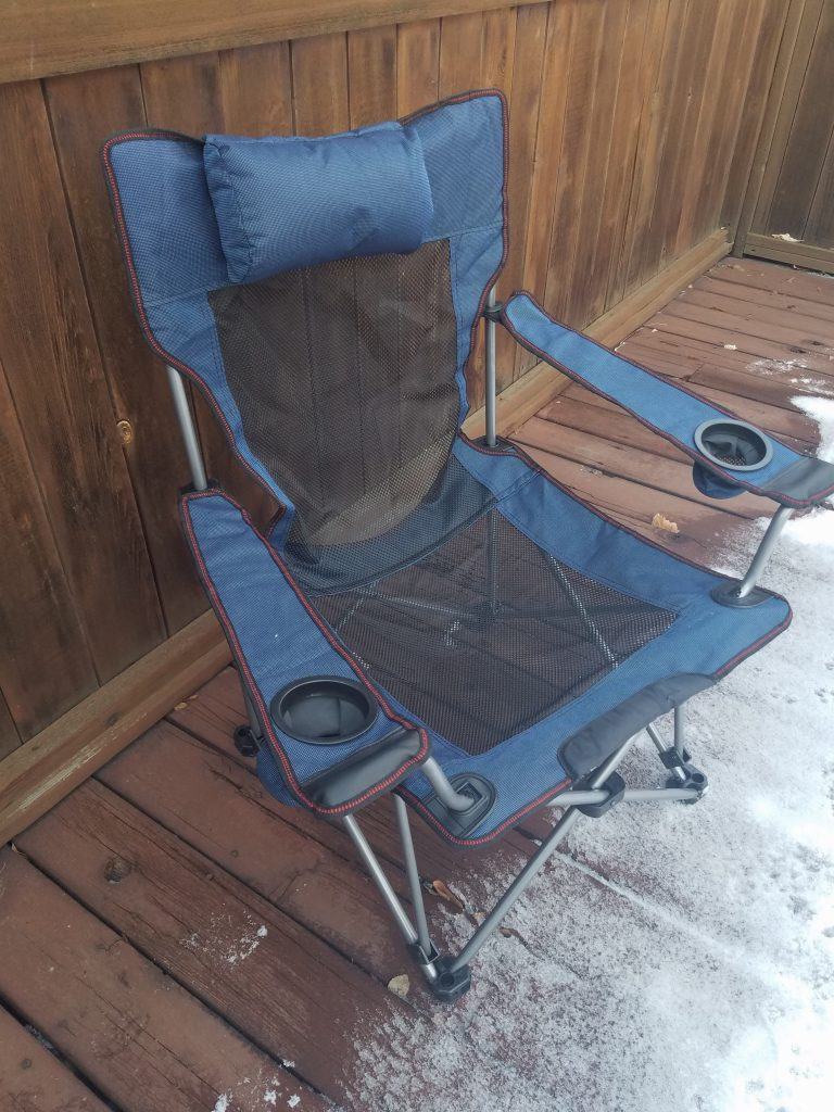 For the Camping Enthusiast: Reclining Camping Chair Review