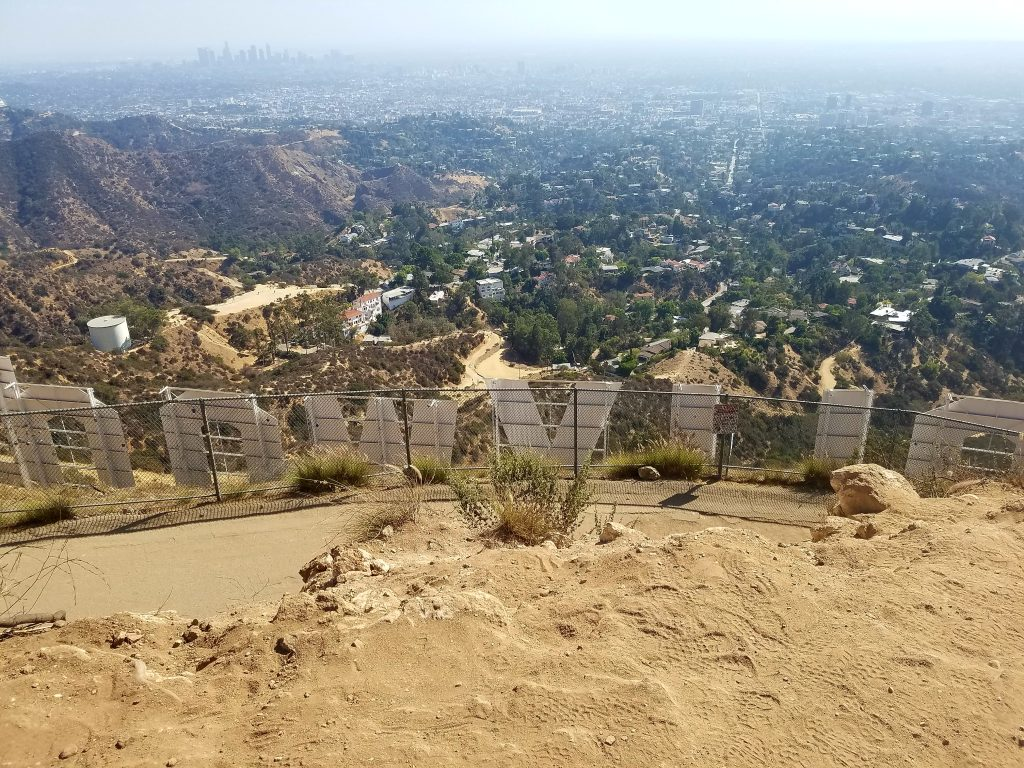 Hiking to the Hollywood Sign Via Brush Canyon on Canyon Drive Trail